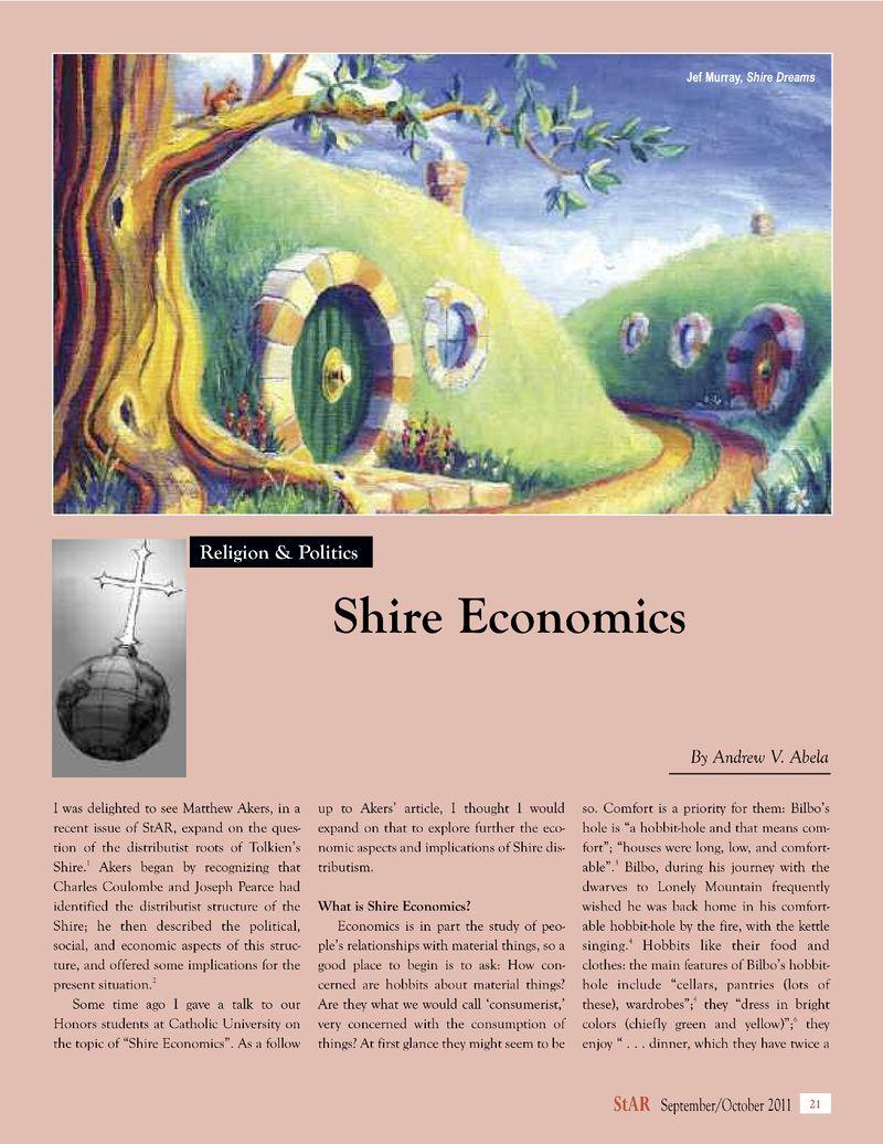 Shire Economics - StAR 1